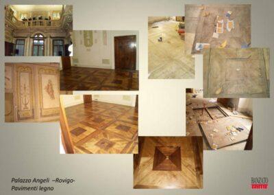 Palazzo Angeli pavimenti legno