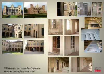 finestre villa Medici del Vascello